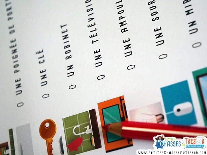 jeu de piste kit PDF à imprimer