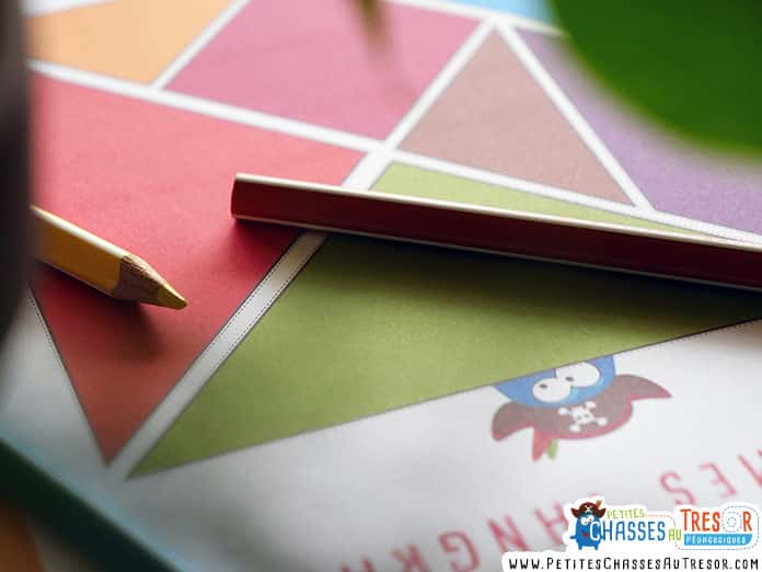 Kit tangram pour enfant