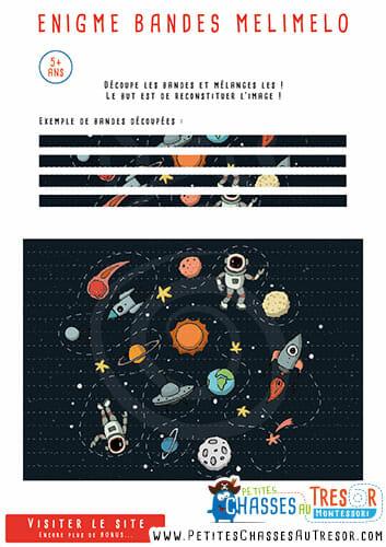 Enigmes puzzle pour des enfant de 5 ans