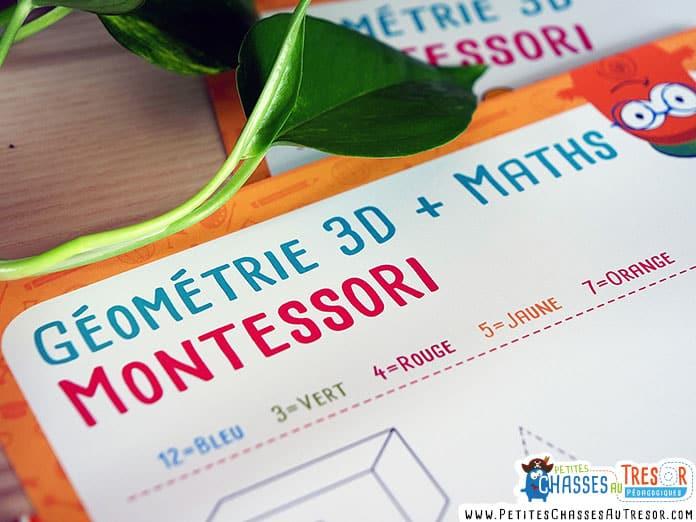 Fiches d'activités mathématique et géométrique pour maternelle