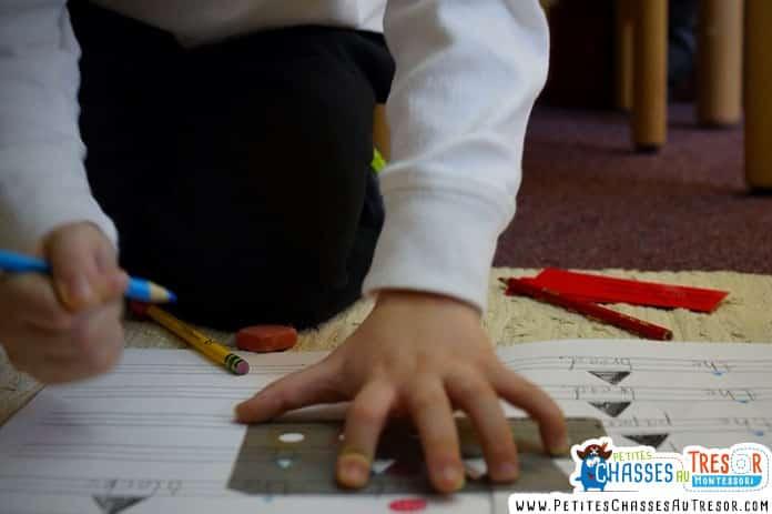 Apprendre en s'amusant grace au méthode Montessori