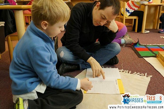 Pédagogie montessori pour les enfants