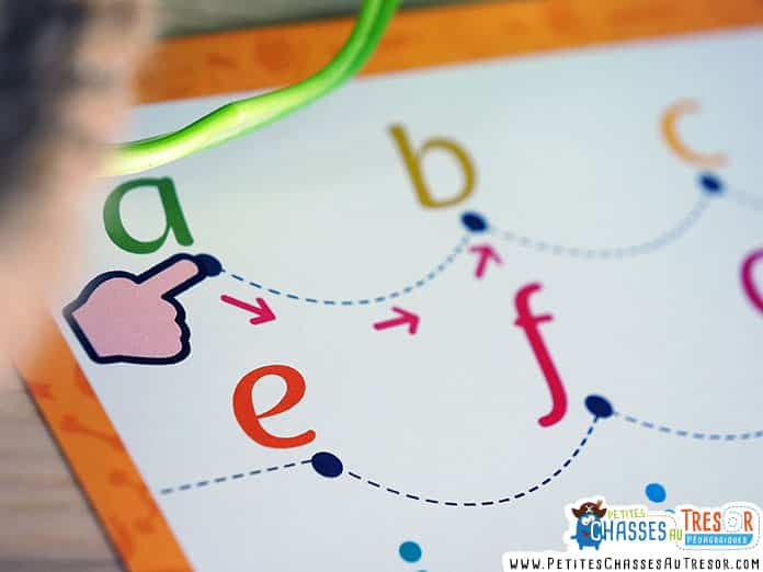 Kit à imprimer pour apprendre l'alphabet aux enfants