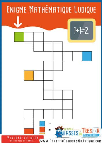 Activités éducatives pour enfant sur les maths