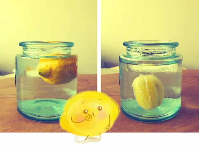 Expérience ludiques pour enfants avec un citron