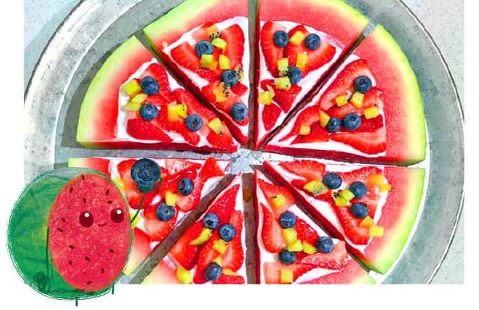 Faire manger des fruits au enfants en s'amusant