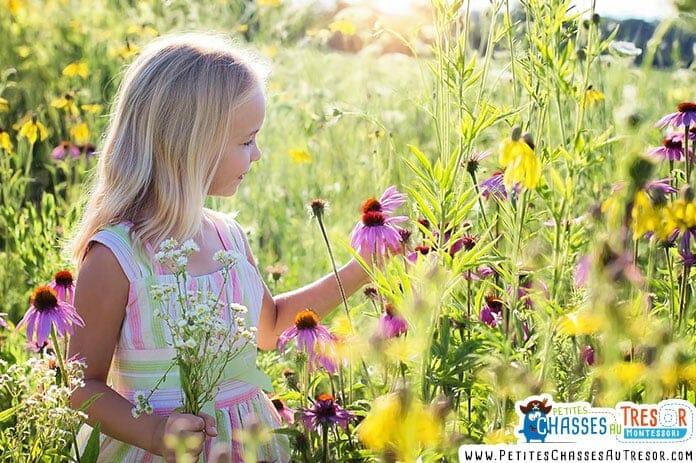 les bienfait psychologique de la nature sur les enfants
