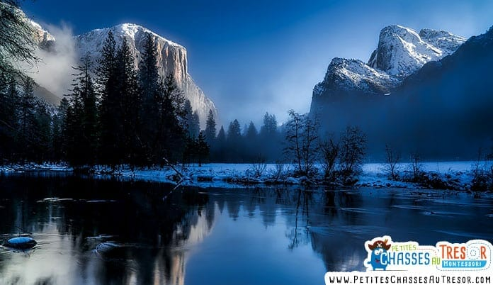 ballade et beau paysage dans la nature