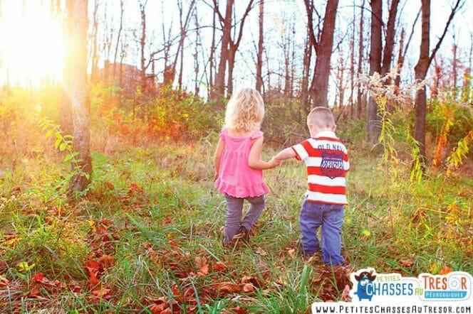 Manque de nature chez l'enfant