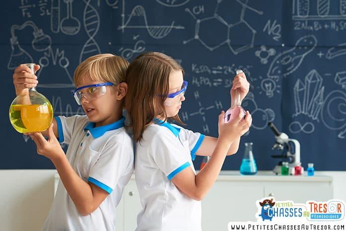 science apprentissage enfants