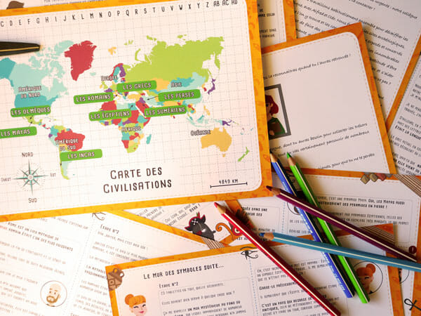 Une chasse au trésor pédagogique pour découvrir les civilisations