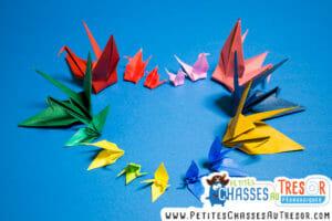 L'origami est une activité manuelle