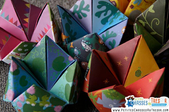 L'origami développe l'imagination et le sens de la couleur