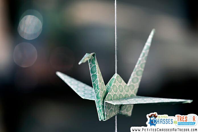 L'origami, l'art ancien du pliage du papier