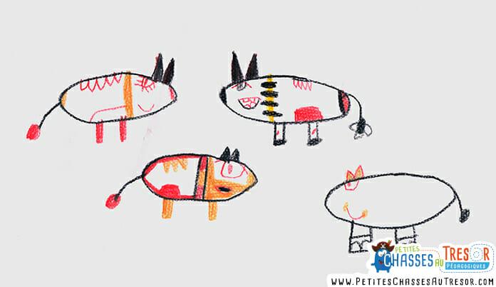 Interpréter les dessins des enfants avec les couleurs