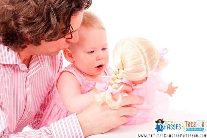 Jouer avec son enfant procure de nombreux effets positifs