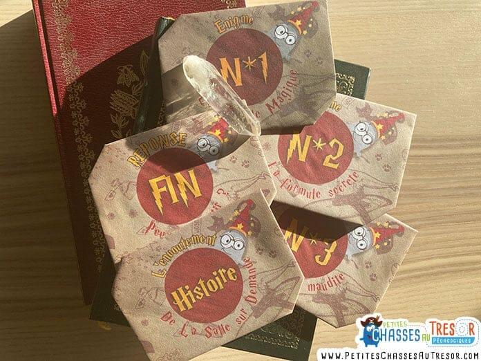 Escape Game Harry Potter kits à imprimer