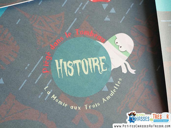 Histoire pour escape Game d'Halloween pour enfant