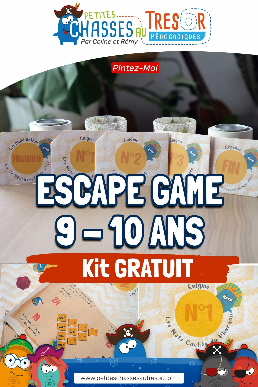 Escape game sur l'égypte pour les enfants pinterest