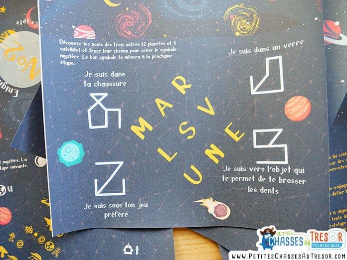 énigmes pour escape game pour enfant